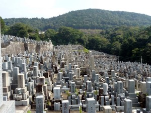 016 - Cemetary in Eastern Kyoto